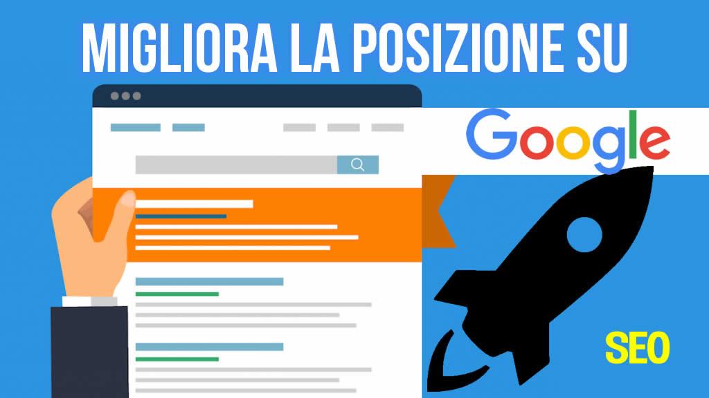 Come migliorare la posizione di un sito WP su Google