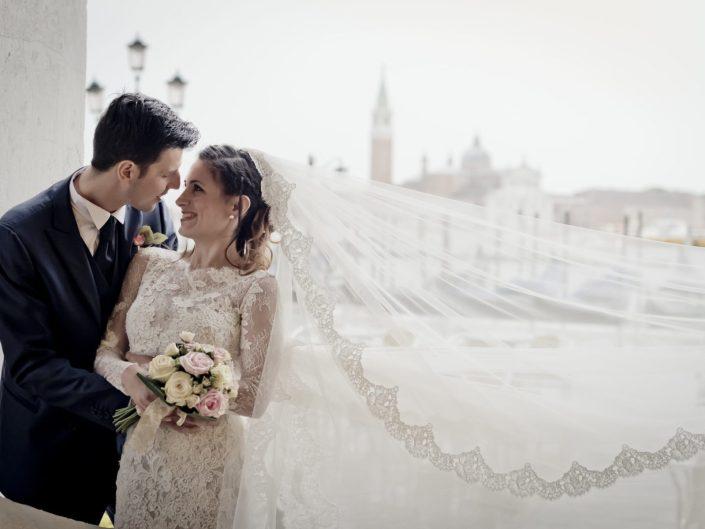 Foto Matrimonio Venezia Abito da Sposa