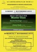 Stefano Rossini e Accademia Romana di Musica, Master Class ed Eventi