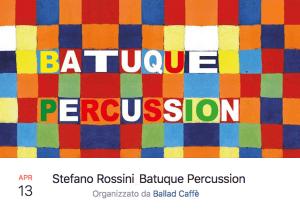 13-04-2018 Stefano Rossini_Batuque Percussion