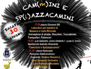 Cammini e spiazzacamini special guest Stefano Rossini