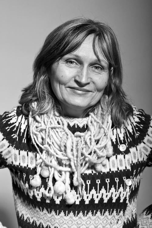 Anna Höglund, illustratör. Fotograf Stefan Tell