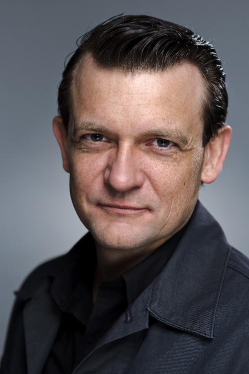 Peter Barlach, författarporträtt. Fotograf Stefan Tell