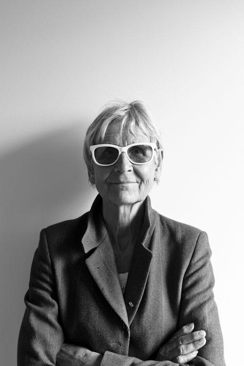Kerstin Brunnberg, Kulturrådet. Porträtt i svartvitt för pressbilder