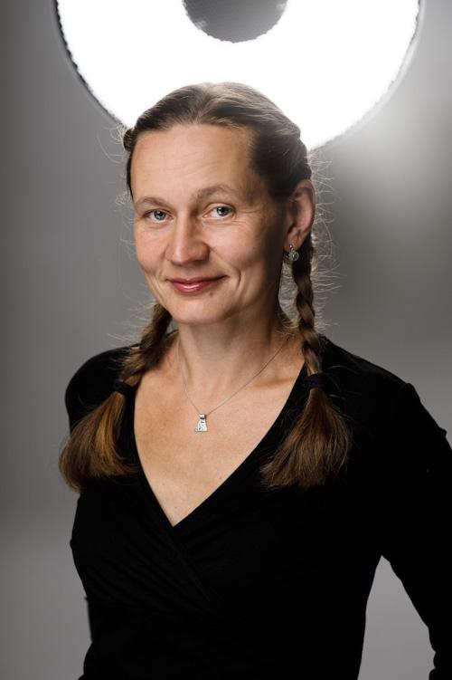 Erika Eklund, författarporträtt. Fotograf Stefan Tell