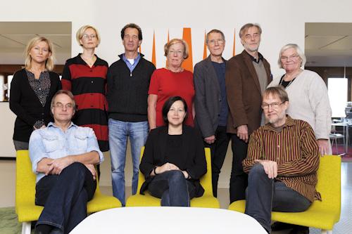 ALMA, gruppbild av jury 2011. Fotograf Stefan Tell