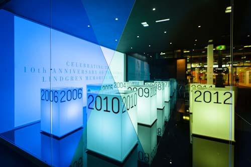 ALMA-utställningen i Bologna 2012. Fotograf Stefan Tell