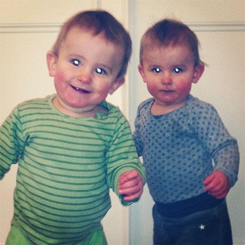 1 år gamla tvillingar, dags att vara pappaledig större delen av 2013