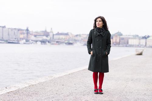 Isol, pressbild med Stockholmsbakgrund. ALMA 2013. Fotograf Stefan Tell