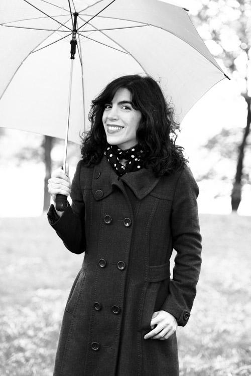 Isol, porträtt i svartvitt, 2013. Fotograf Stefan Tell