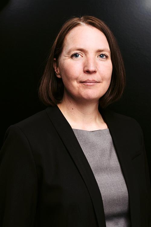 Helena Kvarnsell, porträtt av en lärare. Fotograf Stefan Tell