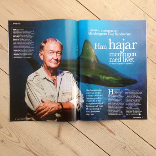 uppslag-i-tidningen-Veterinärmagazinet-Owe-Sandström-Haga