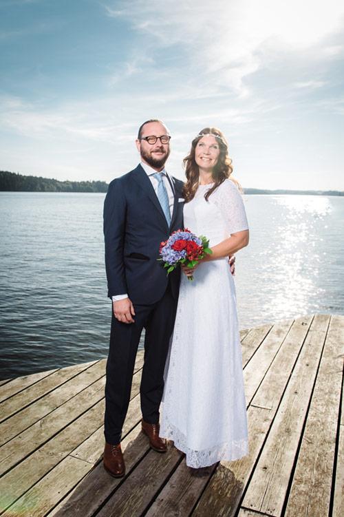 Profoto B1 på bröllopsfotografering