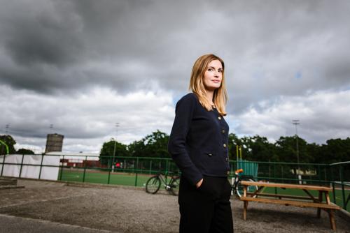 Porträtt av ekonom Emma Persson