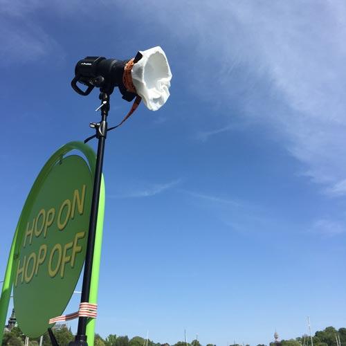 Profoto-B1-Zoom-Reflector-diffusion-rem-blåst-vind-utomhusfotografering