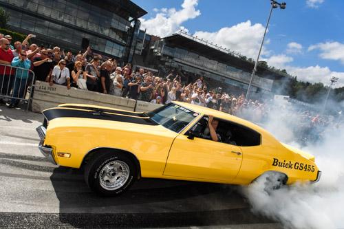 Buick-GS455-Burnout_Wheels-Nationals-Solvalla_2016