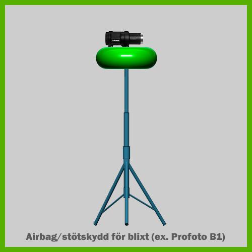 ide-produkt-airbag-skydd-for-blixtar-pa-stativ-uppblasbar