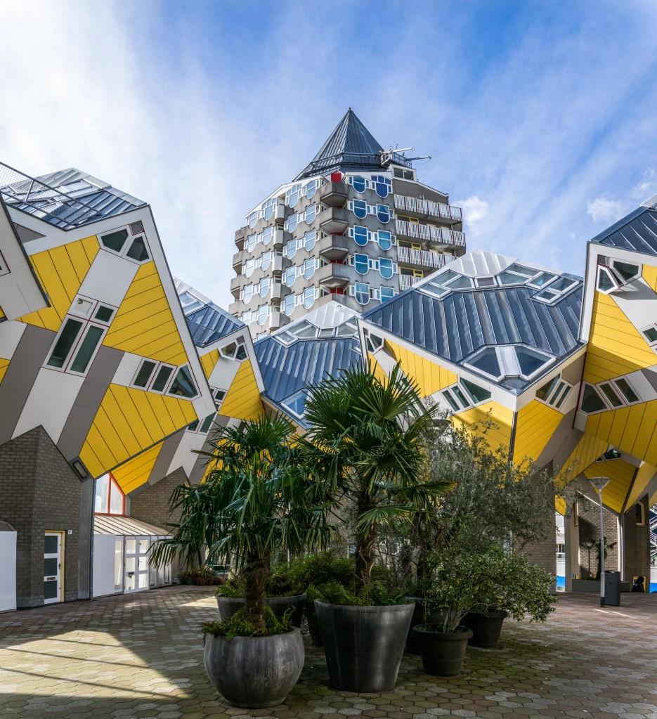 Qube houses, Rotterdam.