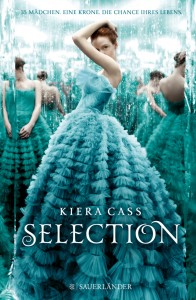 Kiera Cass Selection Cover