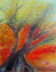 Old Spanish Olive Tree Oil painting