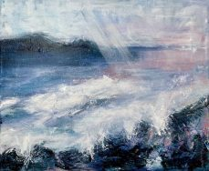 Whisper of Light - original available Mixed Media on canvas 30 x 40 cms £495 plus shipping