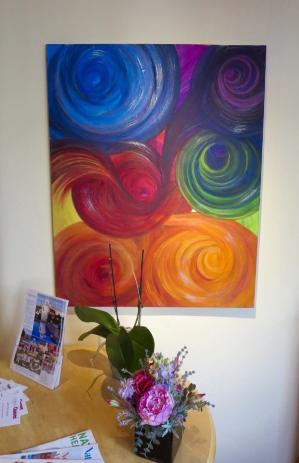 'Chakras' - Art for The Tula Yoga Centre