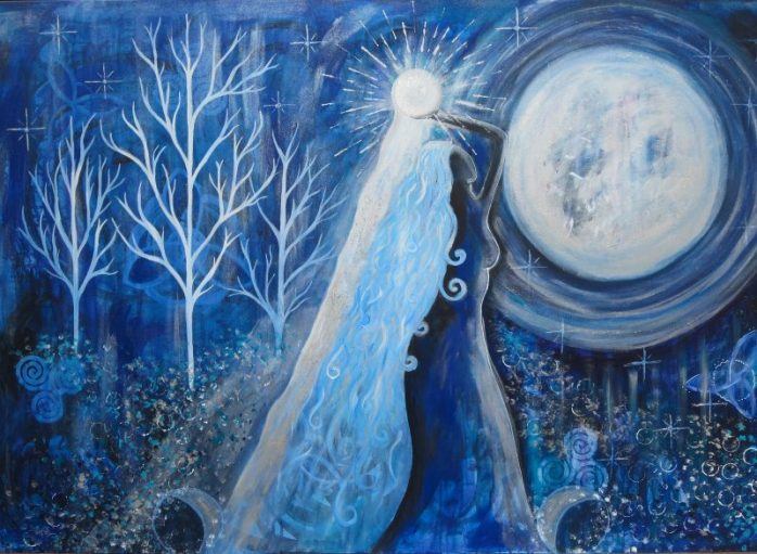 Goddess Selene - The Moon Goddess