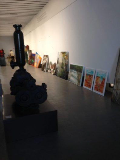 Delivery of art work at La Azucarera, Motril, Spain