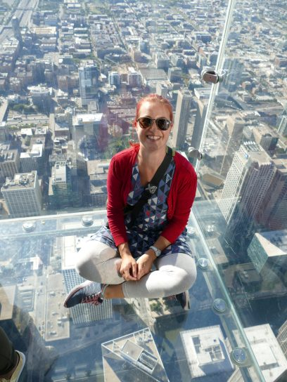Willis Tower - Glasbalkon auf 412 Meter Höhe