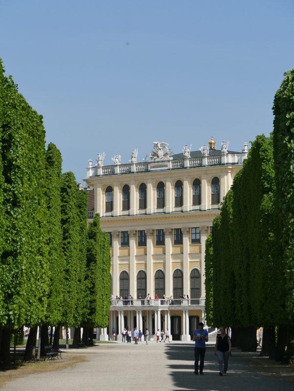 Im Park von Schloss Schönbrunn