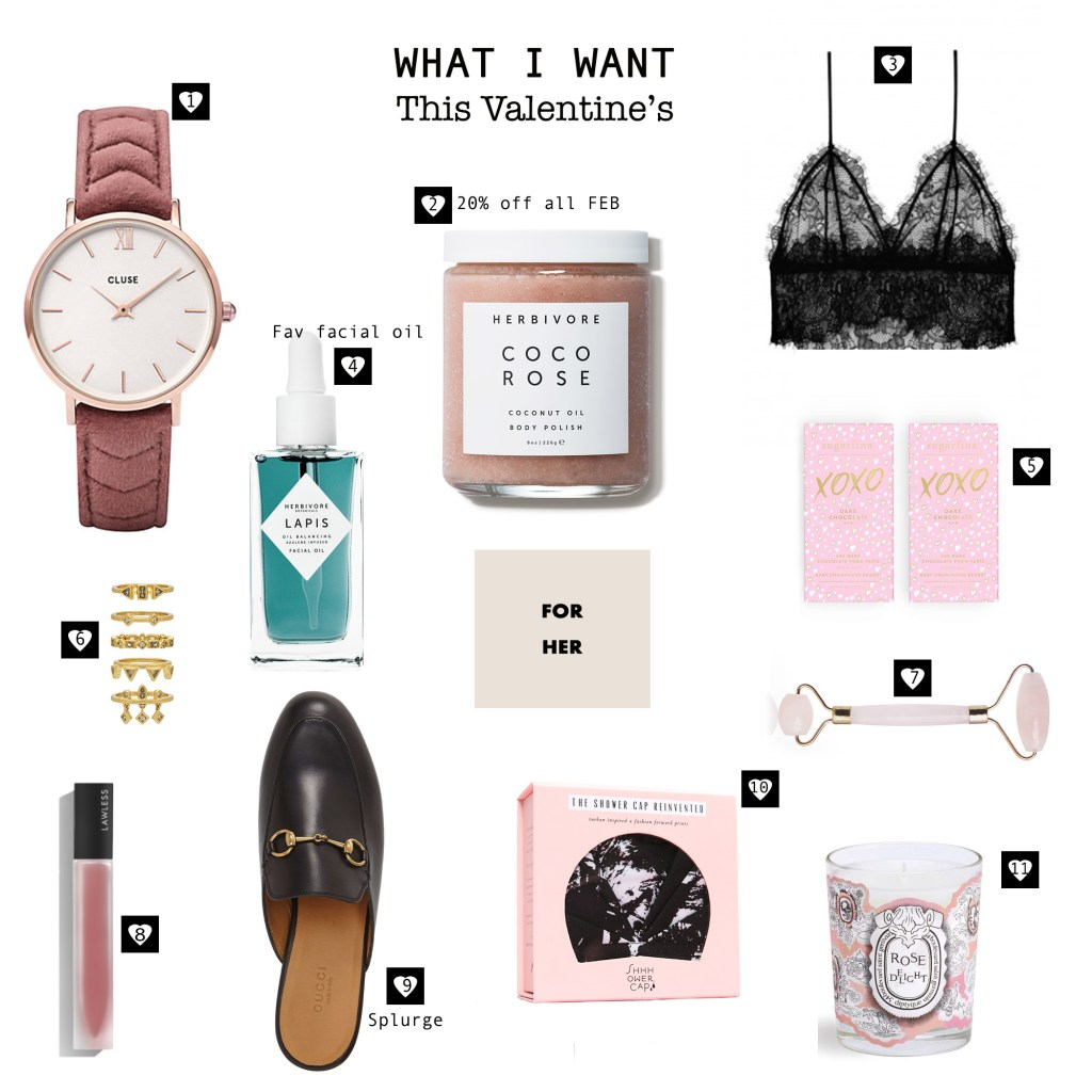 What I Want: Valentine's Day