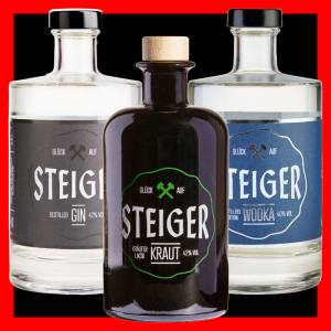 Steiger Kraut Destilled Gin Wodka - Distillers Edition