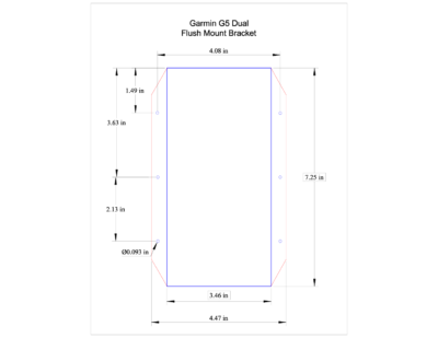 OLD – Dual G5 Bracket Product Printout