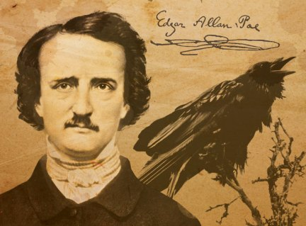 Image of Edgar Allan Poe and The Raven