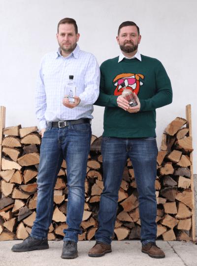 Martin Steiner und Johannes Steiner - Die Macher von Steinhorn Gin