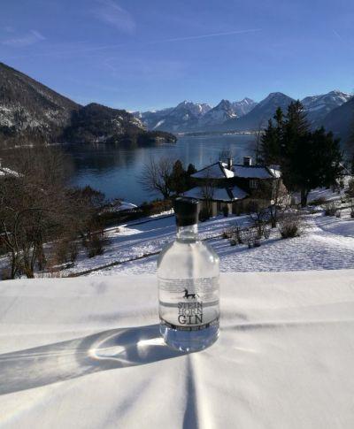 Sonne, Schnee und Steinhorn Gin