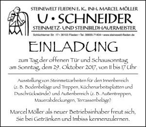 Tag der offen Tür - Steinewelt Flieden e.K.