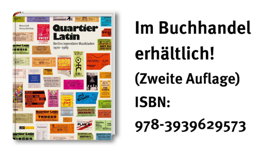 Cover Quartier Latin-Buch