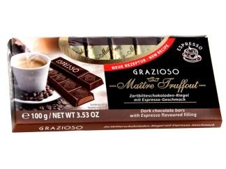 Grazioso-Zartbitterschokolade-mit-Espressogeschmackfuellung