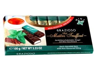 Grazioso-Zartbitterschokolade-mit-Minzecreme