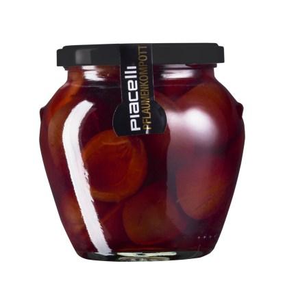 Pflaumen - Kompott - Die volle Frucht im Glas