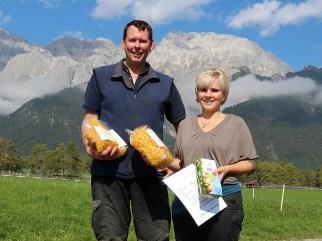 Neu vom Steirerhof Mieming: Carolin's Eiernudeln, Fotos: Knut Kuckel