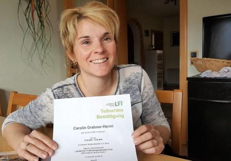 Bestanden - Der Steirerhof hat jetzt eine zertifizierte Bauernhof-Pädagogin, Foto: Steirerhof Mieming