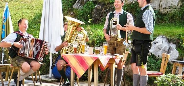 Als Oktoberfestband ist die Steirische ein Muss