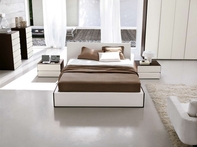 Dormitor - Stejar finisaj alb