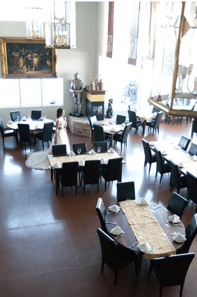 Sala de mese - Manitoba Wellink Restaurant
