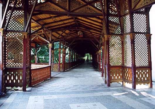 Colonada Buzias - Chiosc pentru fanfara