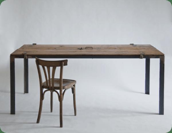 table design Vintage - lemn vechi