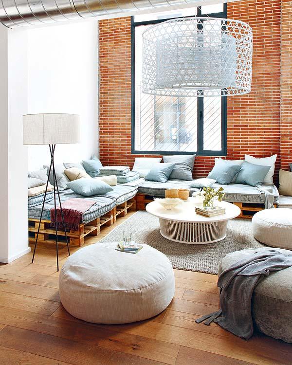 Sufragerie decor - Paleti de lemn