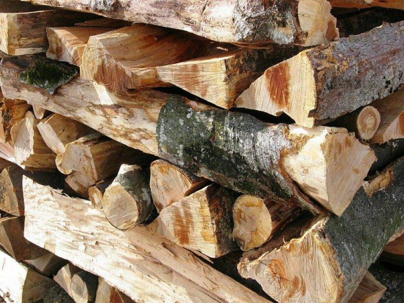 stiva de lemn de fag